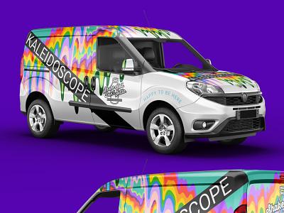 Kaleidescope Vehicle Wrap vinyl wrap vinyl branding design typography graphic design wrap vehicle wrap