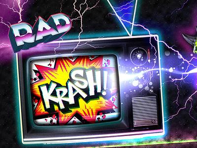 KRASH! Helmet Branding vector logo packaging typography design graphic design branding tradeshow booth tradeshow