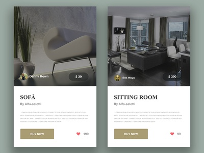 Furniture Widget
