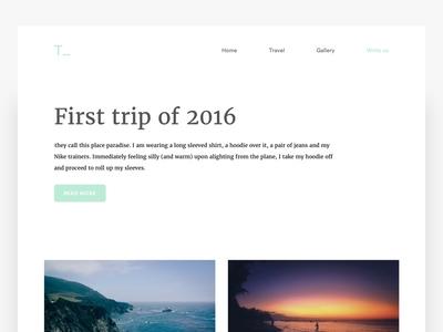 Tripbook - New UI