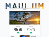 Maui Jim Website Redesign