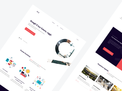 Meritocracy - Homepage Redesign website uidesign landing page user interface web design clean design minimal ux ui