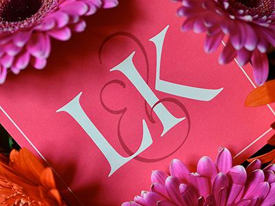 LK Monogram lettering script monogram type typography logo design calligraphy love marriage wedding anniversary