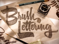 Brush Lettering Workshop in NYC