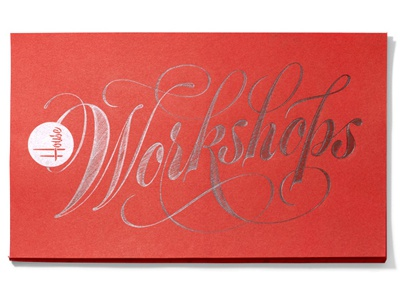 Workshops 400x300 workshop pencil lettering script spencerian copperplate flourishes ornamental penmanship