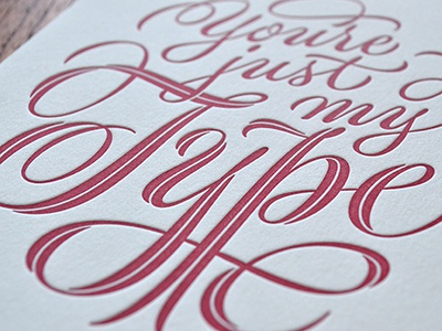 Just My Type detail lettering script pencil sketch drawing flourish spencerian calligraphy typography letterpress print type and lettering pointed pen