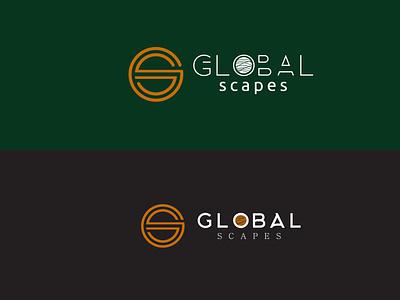 Global Scapes Logo design minimal typogaphy logodesign branding logo graphic design