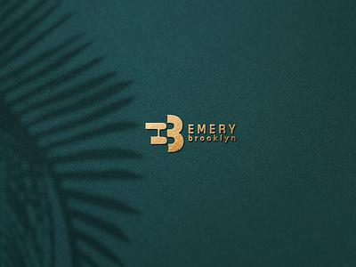 EB logo clothing logo eb logo eb minimal logo branding typogaphy logodesign