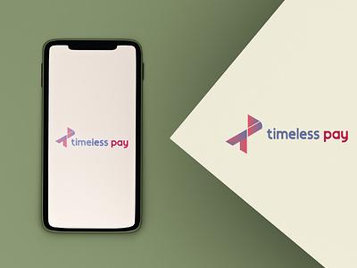 Timeless Pay Logo Design tp vector design minimal typogaphy logodesign timeless pay app logo timeless pay tp app logo app loto tp logo branding logo graphic design