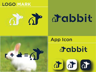 Rabbit Logo Design rabbit logo concept cute rabbit logo beautiful rabbit logo rabbit minimal logo rabbit modern logo modern logo rabbit rabbit rabbit app icon rabbit rabbit logo vector design minimal logodesign branding logo graphic design