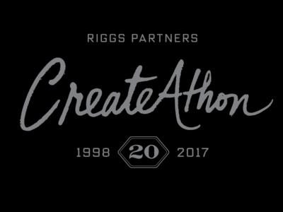 Riggs Partners CreateAthon 20