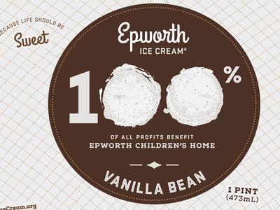 Epworth Ice Cream Package Design