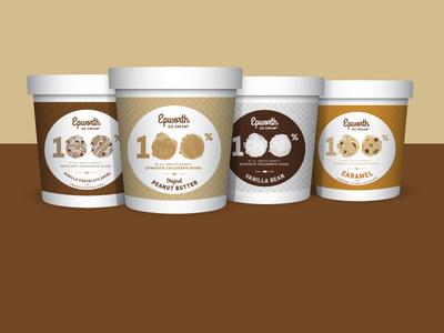 Epworth Ice Cream Labels