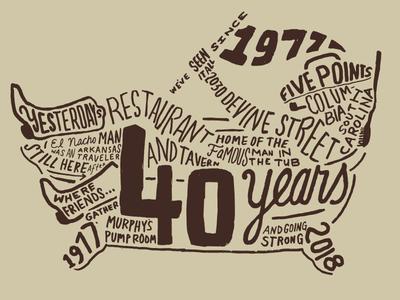 Yesterdays Restaurant & Tavern 40th Anniversary (Columbia, SC)