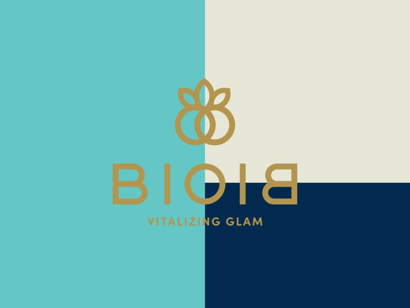 BioBio Color Explorations vector color block simple glamour beauty organic wellness vibrant modern sans-serif geometric visual identity identity logo branding color