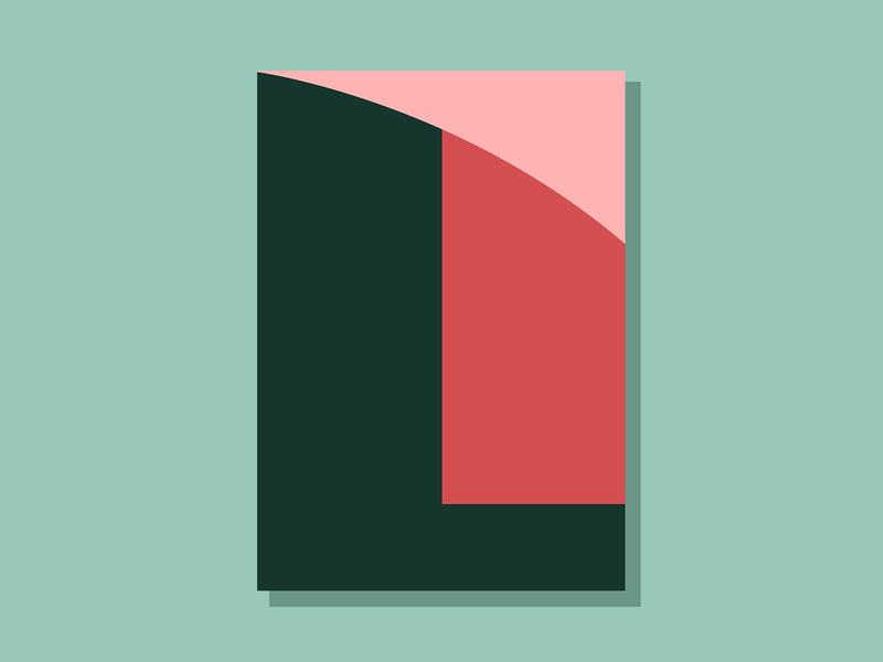 E07P2 color design theoretical conceptual abstract art minimalist clean simple geometric illustration vector illustration vector