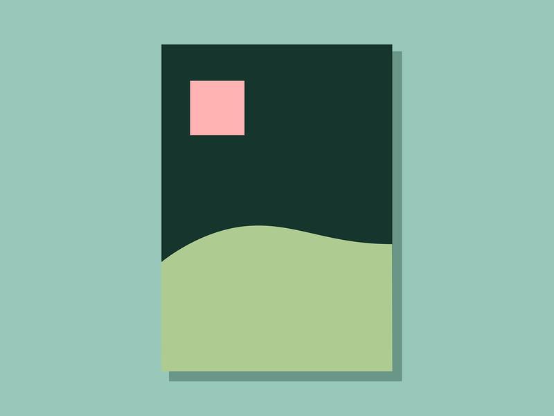 E08P2 color design theoretical conceptual abstract art minimalist clean simple geometric illustration vector illustration vector