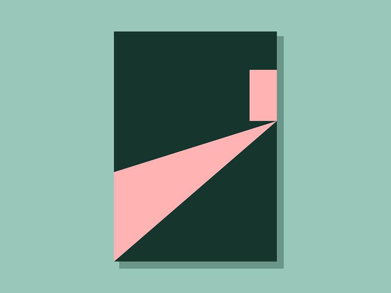 E12P2 color conceptual art abstract minimalist clean geometric simple illustration vector