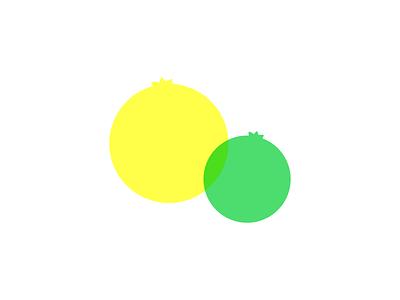 Lemon & Lime minimal vector illustration design