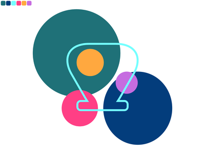 Shell minimal design vector illustration