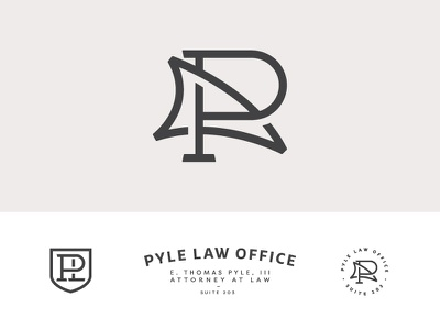 Dribbble   Pyle Law update marks shark branding law