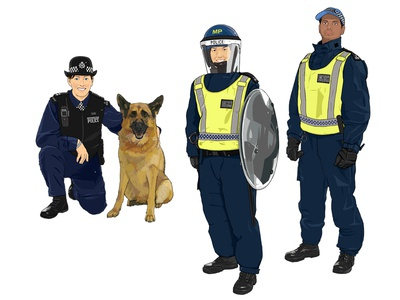 Dog Handler / Territorial Support Group Officers