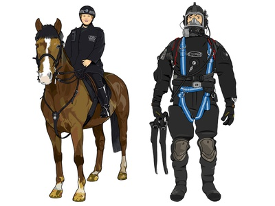 Mounted Officer / Underwater Search Officer