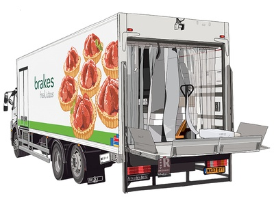Brakes Delivery Truck 2