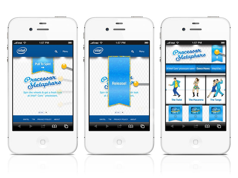 Intel Processor Metaphors i7 i5 i3 dance processor metaphors mobile intel