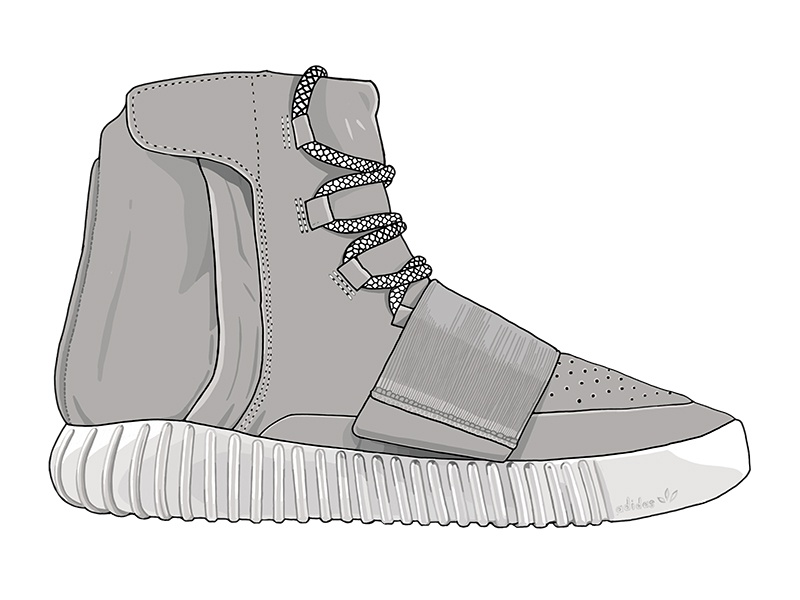 4d13896cdef Scholastic  High Profit High Tops teens investment high tops sneakers  scholastic illustration yeezy boost 750