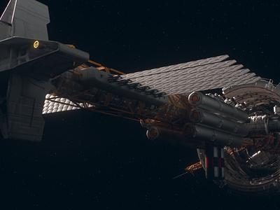 Spacecraft in SPACE!!! illustration vector ux ui logo icon design app nasa earh space spacecraft spaceship