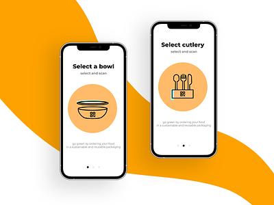 Alternative for plastic tableware startup mobile app