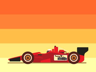 Indycar dribbble