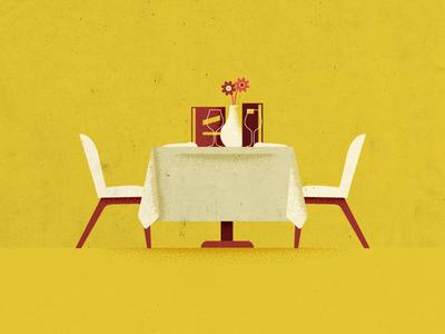 Wine n Dine date dinner flowers chair interior design furniture table dine wine