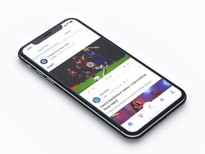 Social Media App story feed chat post discussions social app
