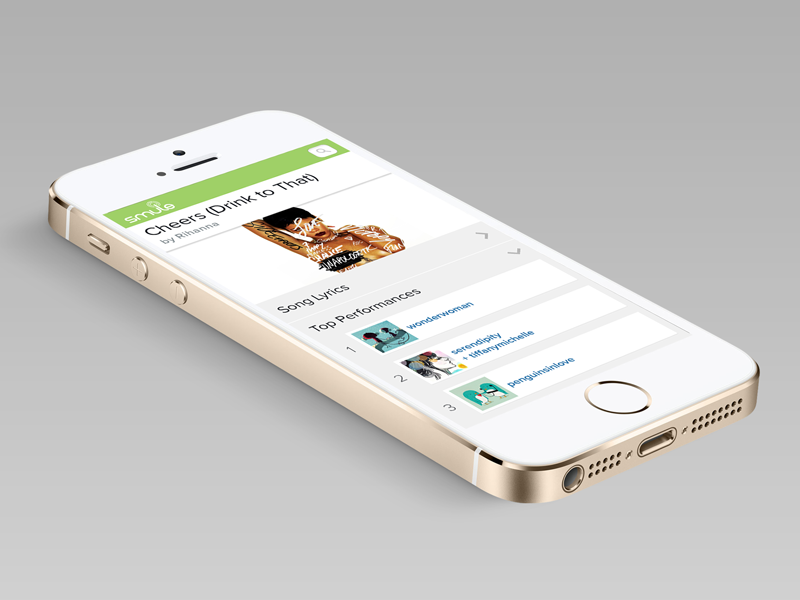 Smule Responsive Design - high res responsive design high res