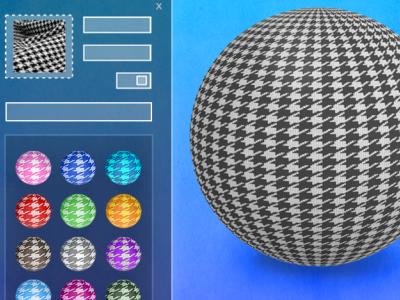 Adobe Substance 3D material variations design 3d design substance graphic design visual design adobe 3d