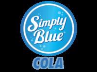 Simply Blue Cola Logo