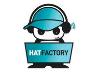 Hat Factory Logo + Illustration