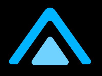 Cascade Logo Square logo design cascade