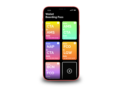 Boarding PassDaily UI #024 • Boarding Pass boardingpass wallet boarding pass boarding ios iphone dark mode dailyuichallenge daily ui dailyui app minimal ui design