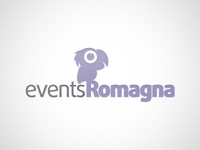 Events Romagna | Logo logo parrot