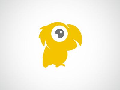 Events Romagna | Logo logo parrot yellow