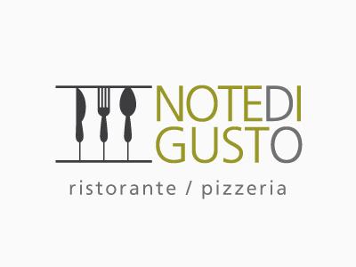 Note di gusto | Logo | v.1 logo restaurant music