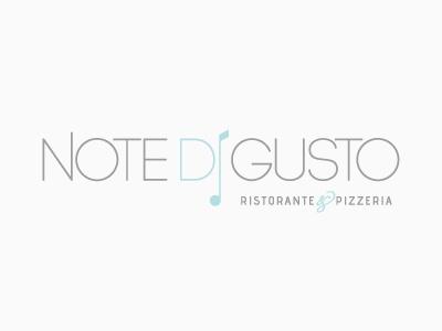 Note di gusto | Logo | v.3 logo restaurant music
