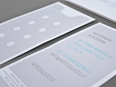 Note di gusto | Flyer flayer restaurant print kitchen pepato flyer