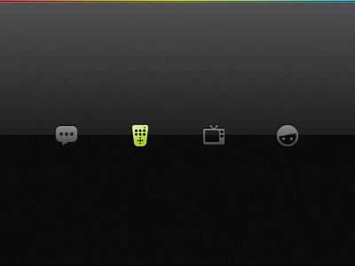 App | TabBar Icons icon tabbar iphone black
