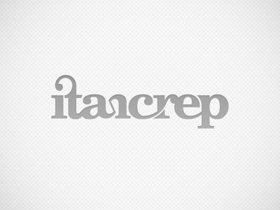 itancrep | Logo | v.1/a logo music dj