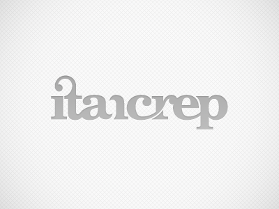 itancrep | Logo | v.1/b logo music dj loop