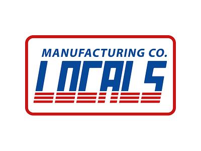 Locals Stripes locals localsapparel apparel logo print